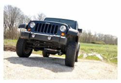 Rough Country Suspension Systems - Rough Country 1047 Front Bumper End Caps - Image 5