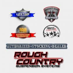 Rough Country Suspension Systems - Rough Country RCJ1246 Wheel to Wheel Nerf Step Bars Black - Image 3