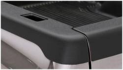 Bushwacker - Bushwacker 48503 Smoothback Side Bed Rail Caps w/ Holes-Black - Image 1