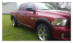 Rough Country Suspension Systems - Rough Country F-D10912 Pocket Style Fender Flares w/ Rivets fits Painted Bumper Models - Image 2