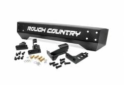 Rough Country Suspension Systems - Rough Country 1011 High Clearance Stubby Front Bumper - Image 1