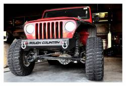 Rough Country Suspension Systems - Rough Country 1011 High Clearance Stubby Front Bumper - Image 2