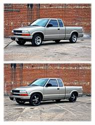 """Rough Country Suspension Systems - Rough Country 727 2.0""""[F]/3.0""""[R] Suspension Lowering Kit - Image 4"""
