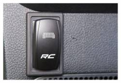 Rough Country Suspension Systems - Rough Country 709B1Single Rocker Switch Housing Each - Image 2