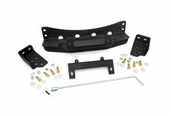Rough Country Suspension Systems - Rough Country 1080 Hidden Winch Mounting Plate - Image 1