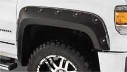 Bushwacker - Bushwacker 40117-02 Boss Pocket Front Fender Flares-Black - Image 1