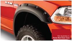Bushwacker - Bushwacker 50915-75 Pocket Style Front/Rear Fender Flares-Flame Red Clear Coat - Image 2