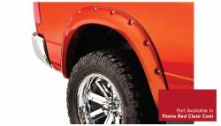 Bushwacker - Bushwacker 50915-75 Pocket Style Front/Rear Fender Flares-Flame Red Clear Coat - Image 5