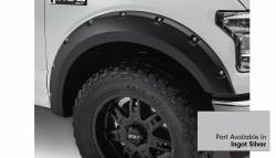 Bushwacker - Bushwacker 20935-52 Pocket Style Front/Rear Fender Flares-Ingot Silver - Image 2
