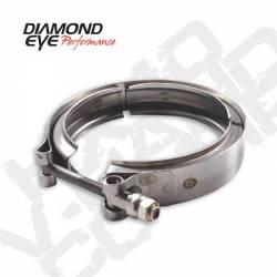 Diamond Eye - Diamond Eye VC375CHV65 V-band Clamp For Chevy 6.5L Turbo Stainless Steel - Image 1
