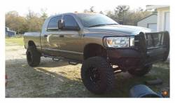 Rough Country Suspension Systems - Rough Country RCD1089MC Cab Length Nerf Step Bars Black - Image 3