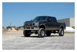 """Rough Country Suspension Systems - Rough Country 580.20 6.0"""" 4-Link Suspension Lift Kit - Image 2"""