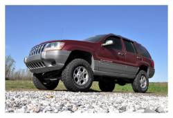 """Rough Country Suspension Systems - Rough Country 639P 4.0"""" X-Series Suspension Lift Kit - Image 3"""
