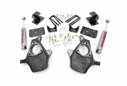 """Rough Country Suspension Systems - Rough Country 722.20 2.0""""[F]/4.0""""[R] Suspension Lowering Kit - Image 2"""