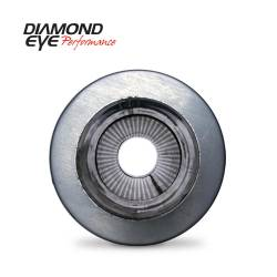 """Diamond Eye - Diamond Eye 470050 Muffler 4"""" Single In Single Out Stainless Perforated Packed 2 - Image 1"""