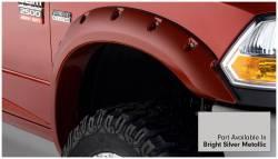 Bushwacker - Bushwacker 50919-55 Pocket Style Front/Rear Fender Flares-Bright Silver Metallic - Image 3
