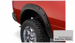 Bushwacker - Bushwacker 50919-55 Pocket Style Front/Rear Fender Flares-Bright Silver Metallic - Image 4