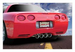 """SLP Performance - SLP Performance 31049 LoudMouth Stainless 2.5"""" Cat-Back Exhaust System - Image 2"""