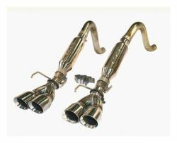 """SLP Performance - SLP Performance 32000 LoudMouth Stainless 2.5"""" Axle-Back Exhaust System - Image 1"""