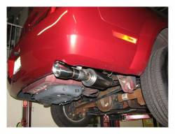 """SLP Performance - SLP Performance M31021 PowerFlo Stainless 2.5"""" Axle-Back Exhaust System - Image 2"""