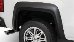 Bushwacker - Bushwacker 40100-02 Extend-a-Fender Rear Fender Flares-Black - Image 1