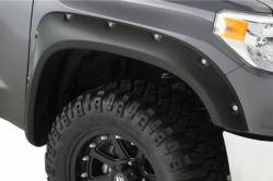 Bushwacker - Bushwacker 30039-02 Pocket Style Front Fender Flares-Black - Image 1
