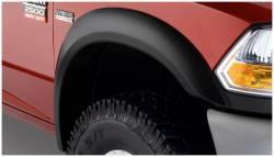 Bushwacker - Bushwacker 50045-02 Extend-a-Fender Front Fender Flares-Black - Image 1