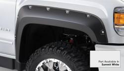 Bushwacker - Bushwacker 40967-14 Pocket Style Front/Rear Fender Flares-Summit White - Image 2