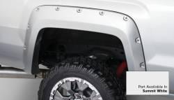 Bushwacker - Bushwacker 40967-14 Pocket Style Front/Rear Fender Flares-Summit White - Image 5