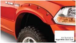 Bushwacker - Bushwacker 50915-15 Pocket Style Front/Rear Fender Flares-Bright White Clearcoat - Image 3