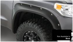 Bushwacker - Bushwacker 30918-33 Pocket Style Front/Rear Fender Flares-Black - Image 2