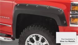 Bushwacker - Bushwacker 40959-54 Pocket Style Front/Rear Fender Flares-Quicksilver Metallic - Image 2