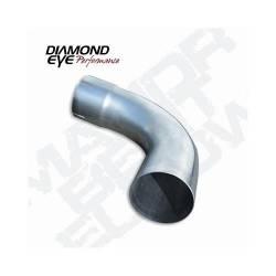 """Diamond Eye - Diamond Eye 529021 Elbow 4"""" 90 Degrees 409 Stainless Steel - Image 1"""