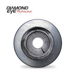 "Diamond Eye - Diamond Eye 560031 Muffler 5"" Single In Single Out 409 Stainless Steel - Image 1"