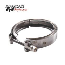 Diamond Eye - Diamond Eye VC400HX40 V-band Clamp For Hx40 Turbo Stainless Steel - Image 1