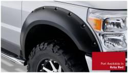 Bushwacker - Bushwacker 20931-72 Pocket Style Front/Rear Fender Flares-Ruby Red - Image 2