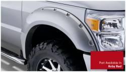 Bushwacker - Bushwacker 20931-72 Pocket Style Front/Rear Fender Flares-Ruby Red - Image 3