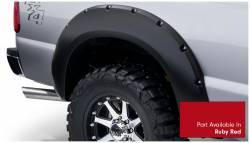 Bushwacker - Bushwacker 20931-72 Pocket Style Front/Rear Fender Flares-Ruby Red - Image 4