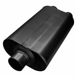 Flowmaster - Flowmaster 8530552 Super 50 Series Muffler, Center/Dual; Stainless - Image 1