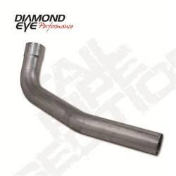 "Diamond Eye - Diamond Eye 121026 Tailpipe 2nd Section 4"" Aluminized 1994-2003 Ford 7.3L - Image 1"