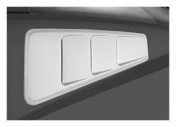 Roush Performance - Roush Performance 420093 Rear Quarter Window Louvers-Unpainted - Image 1