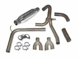 """SLP Performance - SLP Performance 31042 LoudMouth Stainless 3.0"""" Cat-Back Exhaust System - Image 1"""