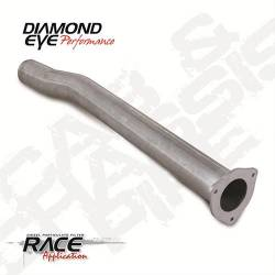 "Diamond Eye - Diamond Eye 321051 Tailpipe 1st Section 4"" Aluminized 2001-2007.5 ChevyGMC 6.6L - Image 1"