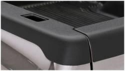 Bushwacker - Bushwacker 58510 Smoothback Side Bed Rail Caps w/ Holes-Black - Image 1