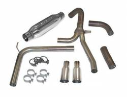 """SLP Performance - SLP Performance 31042A LoudMouth Stainless 3.0"""" Cat-Back Exhaust System - Image 1"""