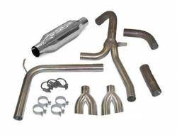 """SLP Performance - SLP Performance 31043 LoudMouth II Stainless 3.0"""" Cat-Back Exhaust System - Image 1"""