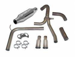 """SLP Performance - SLP Performance 31043A LoudMouth II Stainless 3.0"""" Cat-Back Exhaust System - Image 1"""